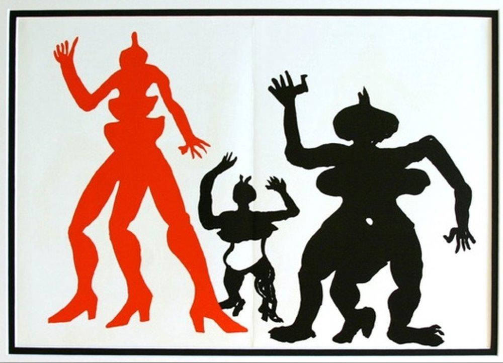 Alexander Calder - uit Derrier Le Miroir ed 212