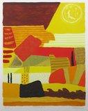Ronald Boonacker - Toscana I - Zeefdruk op papier - 78x63cm - ingelijst