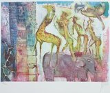 Astrid Engels - Circus - 42 x 55 cm - Litho op papier