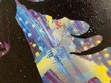 Alvin Silvrants - Bono, U2 Staring at the Sun - 70 x 50 cm - Acryl op doek