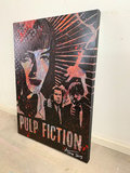 Alvin Silvrants - Pulp Fiction - 70 x 50 cm - Acryl op doek
