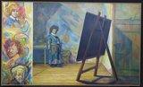 Jan van Holthe - d'Apres Rembrandt 1628