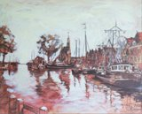 Valentin Bakardjiev - Hoorn, Haven - spieraam