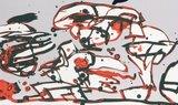 Pierre Alechinsky - IJzerenpoortkraai - 50 x 65 cm - Affiche