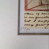 Ad van Bokhoven - Samenkomen, verleden, heden, toekomst - 71 x 40 cm