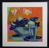 Alfred Degens - Origami - 93 x 93 cm - Lambdaprint op papier - ingelijst
