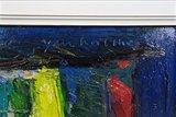 Jan van Holthe - Fenetre - 55 x 45 cm - olieverf op doek - ingelijst_