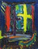 Jan van Holthe - Fenetre - 55 x 45 cm - olieverf op doek - ingelijst
