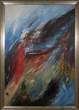 Peter Meijer - Zeeklacht - 184 x 130 cm - Acrylverf op doek - ingelijst