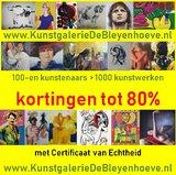 Jan van Holthe - Figure javne sur vert - 38 x 55 cm - olieverf op doek_