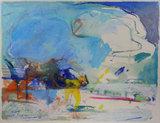 Jan van Diemen - 80 x 100 cm - Acrylverf op papier - in aluminium lijst