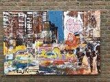 Eric Jan Kremer - zonder titel - 150 x 100 cm - Acrylverf op doek