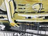 Erik Jan Kremer - zonder titel III (Porsche) - 180 x 120 cm - Acrylverf op doek