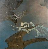 Valentin Bakardjiev - ZT X - 100 x 100 cm - Olieverf op doek
