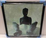 Alejandro Gatta  - IIX - 87 x 85 cm - foto op fotopapier - luxe zwart houten lijst