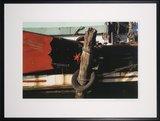 Mark Verdoes - Bandkaai - 78 x 103 cm - Fotoprint op papier - in zwarte houten lijst