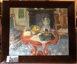 Ad Kikkert - Stilleven - 55 x 65 cm - Olieverf op doek - in houten lijst