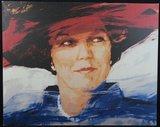 Carla Rodenberg - Beatrix - 100 x 125 cm - Giclee op doek