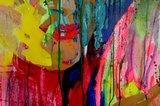 Argentina Zamora - zonder titel - 100,5 x 140,5 cm - Acryl op doek