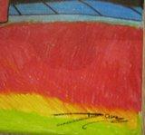 Daniel Polyakov - Amsterdam - Acryl op Doek - 40 x 50 cm