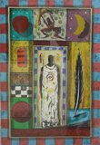 Erik Toebosch - Angeli - 88 x 68 cm - Zeefdruk op papier - in houten lijst