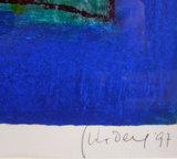 Geert Vrijdag - Tigris - 90 x 120 cm - Zeefdruk op papier - in luxe aluminium lijst