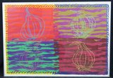 Bob Negryn - zonder titel - 71 x 101 cm - Zeefdruk op papier - in aluminium lijst