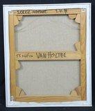 Jan van Holthe - Soleil Montant - 56 x 47 cm - Olieverf op doek - in houten lijst