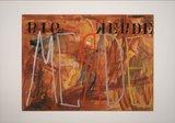 Jan van Holthe - Uit de Merde serie: Merde 15 - 54,5 x 74 cm - Acryl op papier