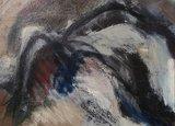 Ineke van Koningsbruggen - Zonder titel - 130 x 150 cm - olieverf op doek