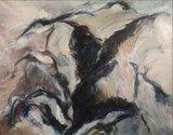 Ineke van Koningsbruggen - Zonder titel - 130 x 150 cm - olieverf op doek_