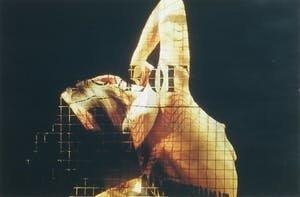 José Aerts - Danseres II - 51 x 71 cm -Fotografie C-print -ingelijst