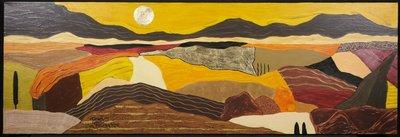 Ronald Boonacker - Italian landscape - 50cmx150cm - Polygrafie op doek