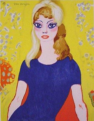 Kees van Dongen - affiche - Brigitte Bardot