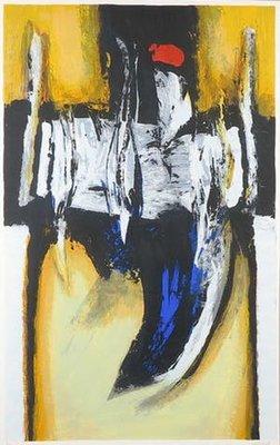 Hans van Horck - Memory - 109 x 75 cm - Litho op papier - ingelijst