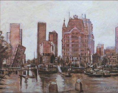 Valentin Bakardjiev - Oude Haven Rotterdam - spieraam