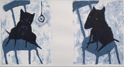 Peter Bastiaanssen - Hond (grijs)