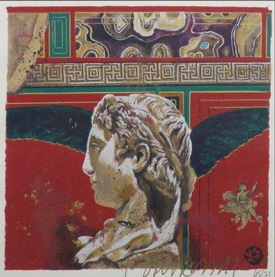 Gerti Bierenbroodspot - zonder titel II - ingelijst