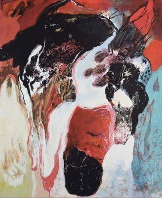 Bert Braam - Admira - 86,5 x 70,5 cm - Zeefdruk op papier