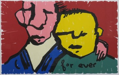 Herman Brood - For ever - ingelijst