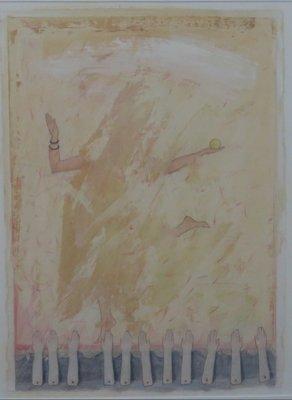 Lon Buttstedt - Manus Pedis - ingelijst