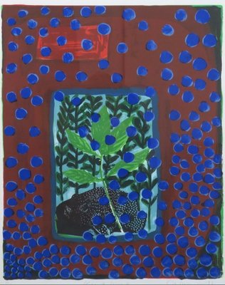 Cees Dolk - Flora en Fauna - ingelijst