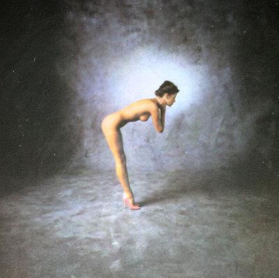 Paul Huf - Roze schoenen - ingelijst