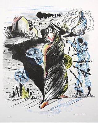 Nour-Edinne Jarram - La Revolte - ingelijst