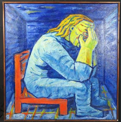 Jan van Holthe - Gevangene van de wanhoop - Ingelijst