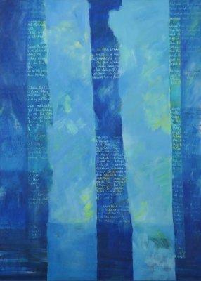 Theodora Plas - Open Raam - 135 x 100 cm - olieverf op doek - ingelijst