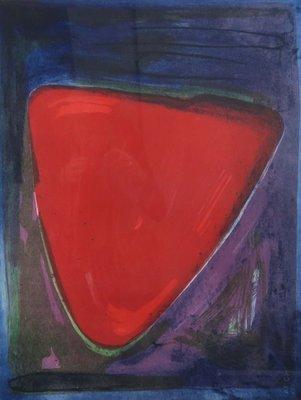 Jose van Tubergen - z.t. (driehoek) - ingelijst