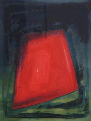 Jose van Tubergen - z.t. (vierhoek) - ingelijst