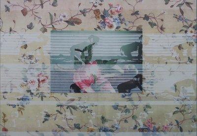 Marli Turion - De trots van de tuinman - 56 x 80 cm - C-print op kunststof