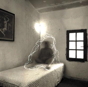 Jean Ruiter - South of France (zelfportret) - ingelijst